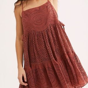 Lily of the Valley Mini Free People Dress